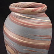 Niloak Mission Swirl Cabinet Vase 4 3/4&quot; -Minty & Fresh from our collections