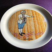 SALE Vintage Holiday Inn Shenango Restaurant Ware Plate - John Holiday