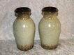 Vintage Scheurich - Keramik W. Germany Vase # 523-18 PAIR of 2