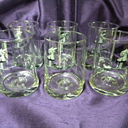 B.C. Comics Glasses Johnny Hart Set of 6 MINT