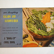 1943 Hook-Up Cookbook 400 Tempting Salads & Sandwiches