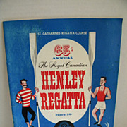 1947 Royal Canadian Henley Regatta Official Program