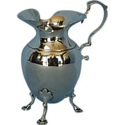 Late-19th Century English Sterling Silver Creamer