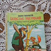 Uncle Remus Little Golden Book  with the Tar Baby   1947 copywrite