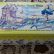 Vintage Mother Goose Shoe Box with Nursery Rhymes - so Sweet