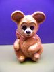 Little Brown Bear Pottery Vase Planter