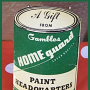 Sewing Needles Case From Gambles Store Give-Away Advertising Gambles Paint