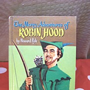 1955 ROBIN HOOD Hardback Book by Howard Pyle