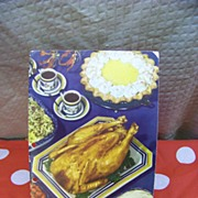 1948 French 's Spices Cookbook  Pics of Vintage Spice Tins TOO