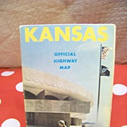 1971 Kansas Official Highway Map  by Robert R. Sanders