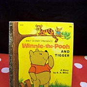 Winnie The Pooh The Honey Tree Little Golden Book