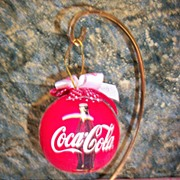 1993 Coca Cola Christmas Ornament in original container