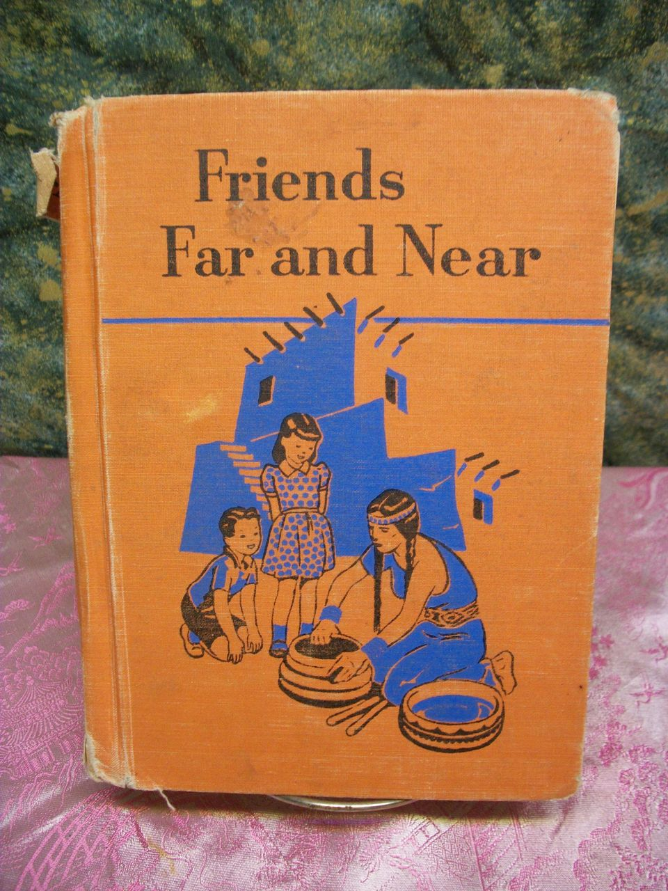 1949 Ginn School Book  Friends Far and Near