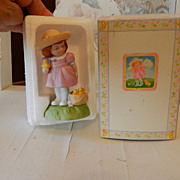 1985 Limited Edition Avon Easter Charm Porcelain Figurine MIB