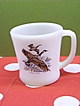 Fire King Canada Goose Coffee Mug   Fire-King Coffee Cup