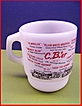 Fire King Glass Coffee Mug CB'er Trucker Mug  CB Language Jargon