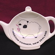 Sheep Tea Bag Holder from Kingston Corner, New Zealand