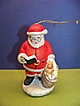 Ceramic Santa Claus Christmas Tree Ornament