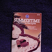 Pillsbury Cookbook SUMMERTIME Favorite Recipes