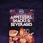 Pillsbury Cookbook APPETIZERS, Snacks & Beverages