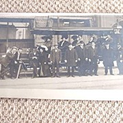 Vintage Real Photo Postcard Denver Omnibus  Unused