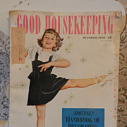 1950 Good Housekeeping Magazine with Alex Ross Art Cover