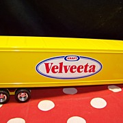 ERTL Semi Trailer KRAFT Velveeta Cheese Semi Trailer TOY