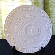 Easter Collector Plate 1972 Frankoma