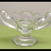 Salt Cellar on Pedestal  Glass Master Salt