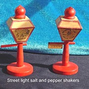Abilene Kansas Street Light Salt and Pepper shakers