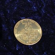 1961 Mitchell County Kansas Centennial Token Good for  50 cents