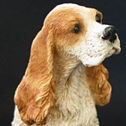 1988 Original Italy Castagna Cocker Spaniel Dog