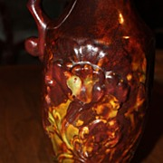 Vintage Pottery Ewer Hot Springs Pottery