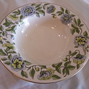 Vintage Castleton China Bowl Ravenna Pattern
