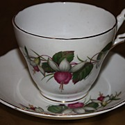 SALE Vintage Regency China Cup Saucer Set Demitasse