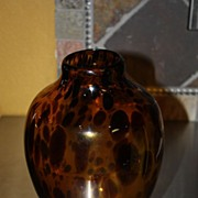 SALE Lovely Vintage Glass Vase