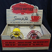 Box Set Glasbake Hottles Service for Two  with Display Box