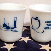 2 Corning Mugs