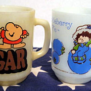 Ziggy & Huckleberry Pie Mugs - as is