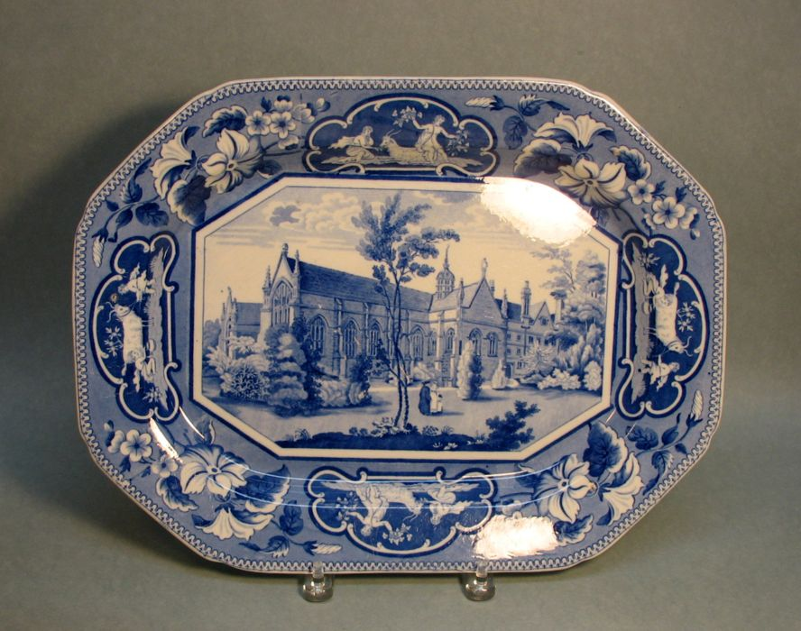 Ridgway Oxford Views Platter ca. 1835