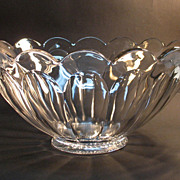 "Heisey ""Puritan"" Punch Bowl"