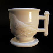 Atterbury Milk Glass Mug ca. 1885