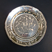 Silver Resist Luster Plate ca. 1830
