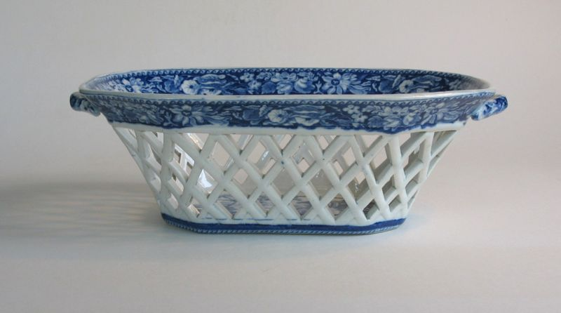 Staffordshire Fruit Basket circa 1825
