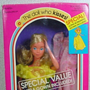 Mattel 1978 Kissing Barbie Gift Set!