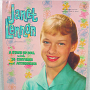 Mint and Uncut, Janet Lennon Paper Dolls, Whitman, 1961.