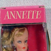 MIB 1960�s Barbie Clone Doll, Annette, Eegee Dolls, Brooklyn, NY.