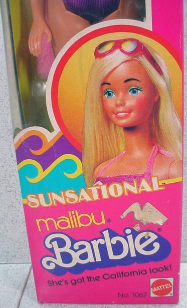 NRFB Mattel Sunsational Malibu Barbie 1981 from  : RL0025534L from www.rubylane.com size 373 x 615 jpeg 257kB