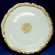 German Porcelain Plate C1904