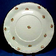 Large Azalea Platter or Charger Cream Petal by Grindley